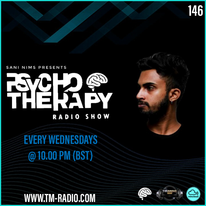 Psycho Therapy :: PSYCHO THERAPY EP 146 BY SANI NIMS ON TM RADIO (aired on July 21st) banner logo