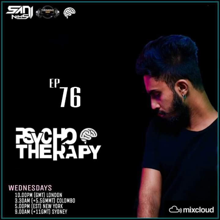 Psycho Therapy :: PSYCHO THERAPY EP 76 BY  SANI NIMS ON TM RADIO (aired on March 4th, 2020) banner logo
