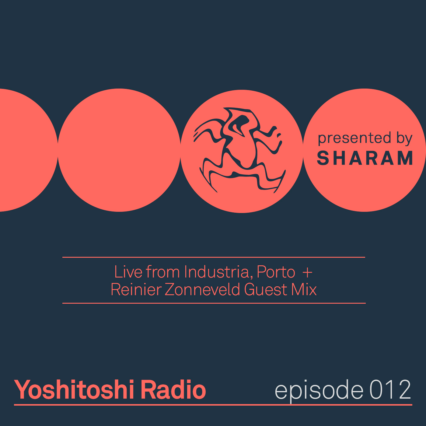 Yoshitoshi Radio :: Episode 012, Live at Industria Porto + Reinier Zonneveld Guest Mix (aired on October 21st, 2017) banner logo