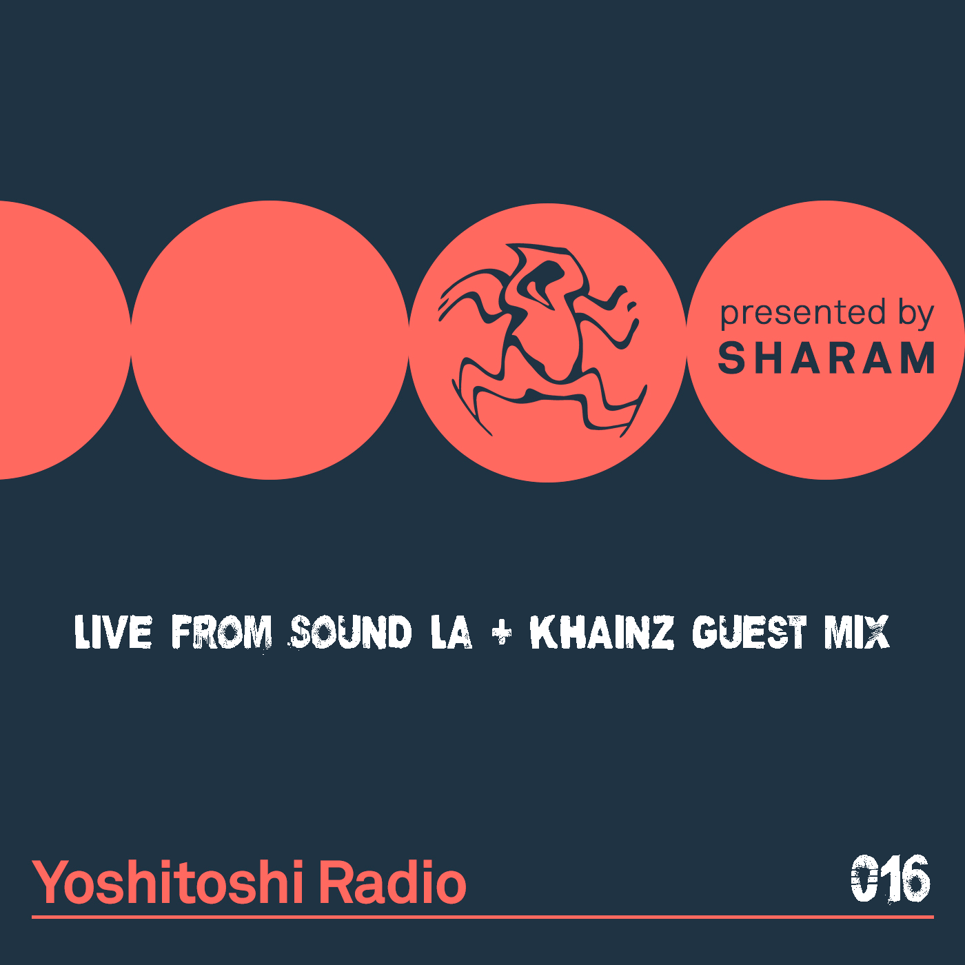 Yoshitoshi Radio :: Episode 016, live at Sound, LA + Khainz guest mix (aired on November 18th, 2017) banner logo
