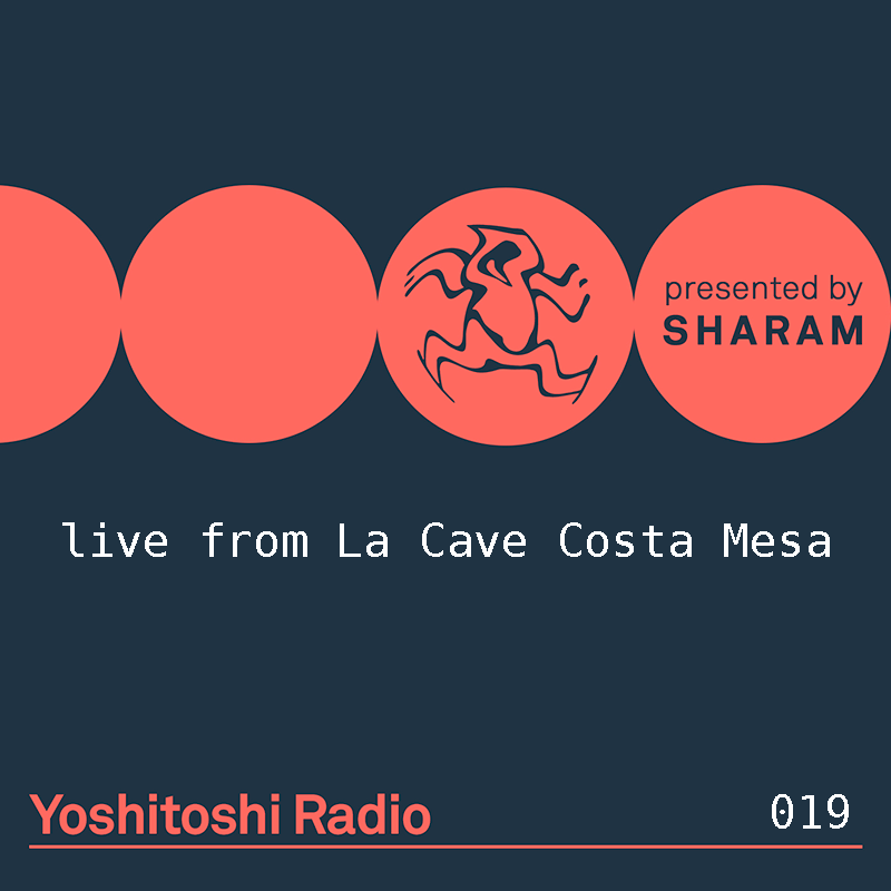 Yoshitoshi Radio :: Episode 019, live at La Cave Costa Mesa (aired on December 9th, 2017) banner logo