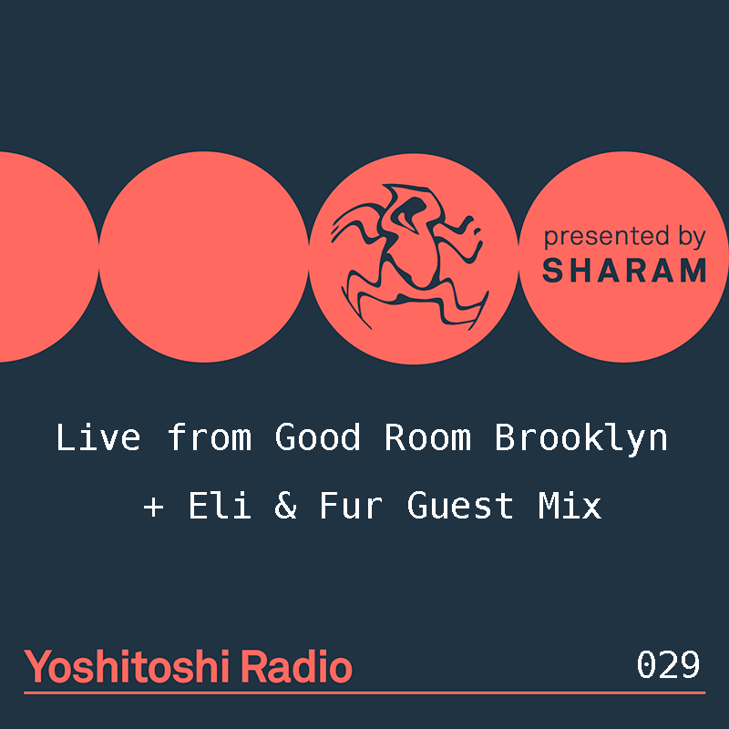 Yoshitoshi Radio :: Episode 029, Live from Good Room Brooklyn + Eli & Fur Guest Mix (aired on February 17th) banner logo