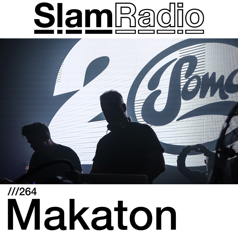 Slam Radio :: Episode 264, guest Makaton (aired on October 19th, 2017) banner logo