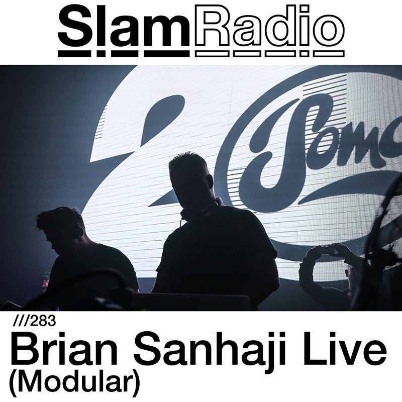 Slam Radio :: Episode 283, guest mix Brian Sanhaji (Modular) (aired on March 1st, 2018) banner logo
