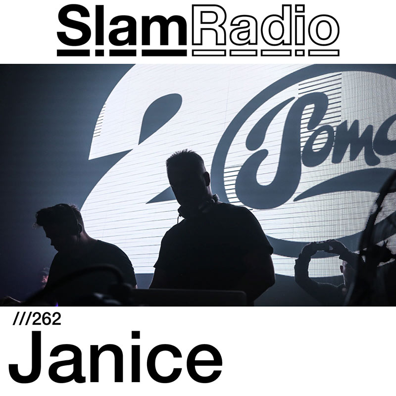 Slam Radio :: Episode 262, Janice guest mix (aired on October 5th, 2017) banner logo