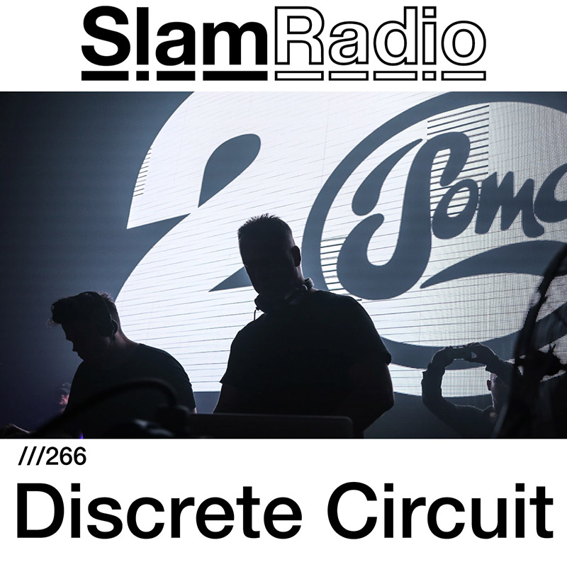 Slam Radio :: Episode 266, guest mix Discrete Circuit (aired on November 2nd, 2017) banner logo