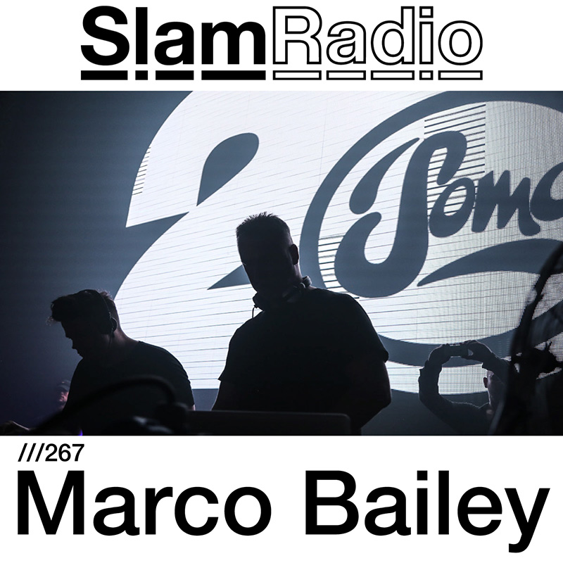 Slam Radio :: Episode 267, guest Marco Bailey (aired on November 9th, 2017) banner logo