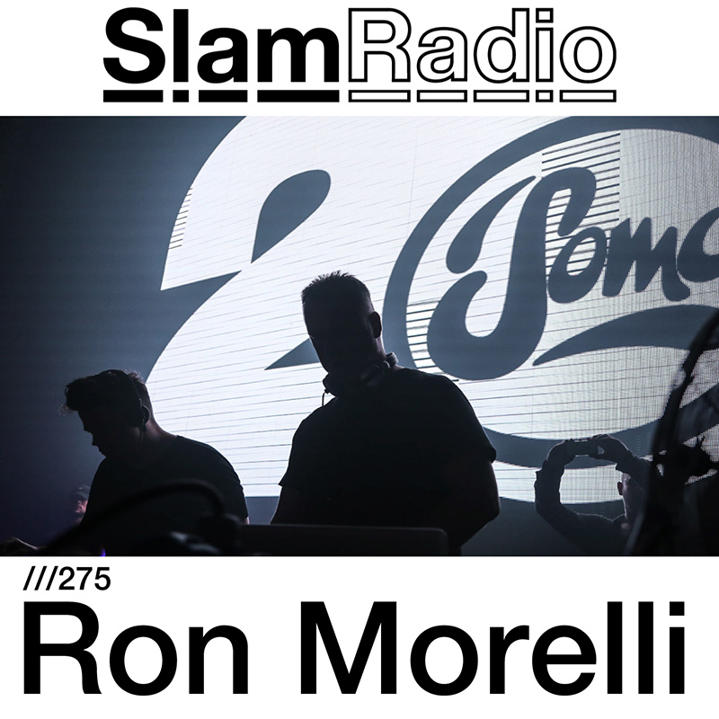 Slam Radio :: Episode 275, guest mix Ron Morelli (aired on January 4th, 2018) banner logo
