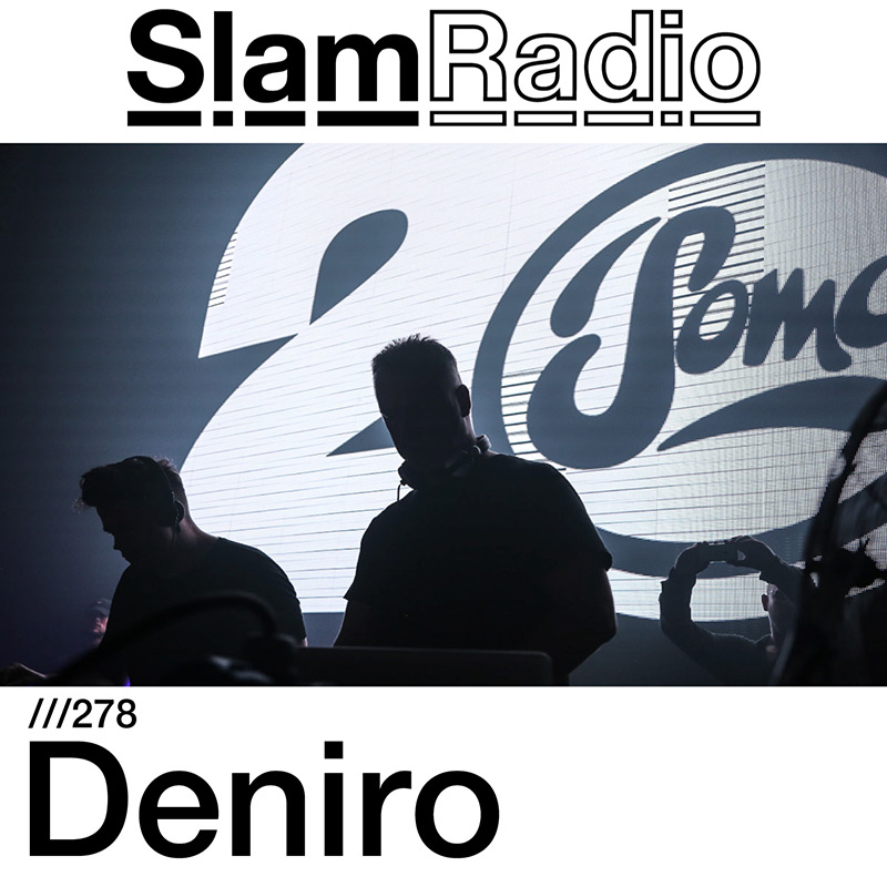 Slam Radio :: Episode 278, guest mix Deniro (aired on January 25th, 2018) banner logo