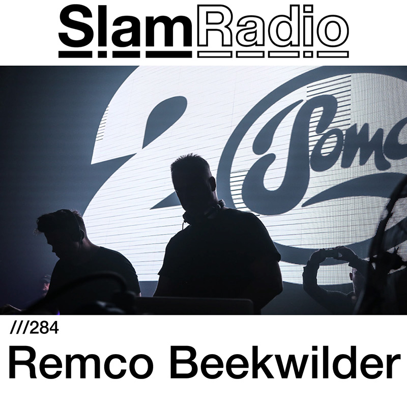 Slam Radio :: Episode 284, guest mix Remco Beekwilder (aired on March 8th, 2018) banner logo