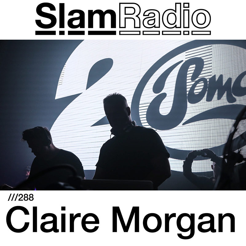 Slam Radio :: Episode 288, guest mix Claire Morgan (aired on April 5th, 2018) banner logo