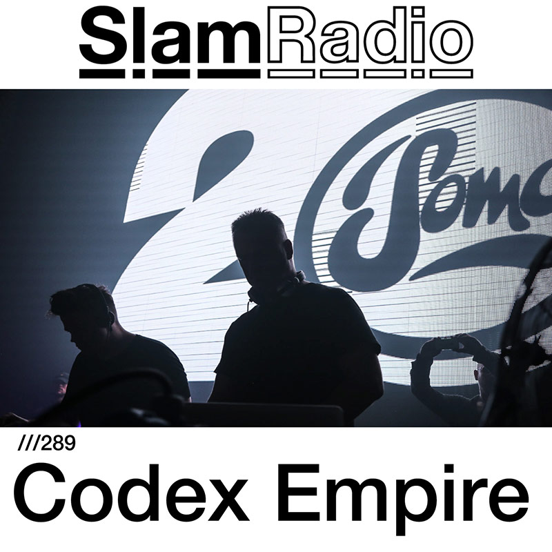 Slam Radio :: Episode 289, guest Codex Empire (aired on April 12th, 2018) banner logo