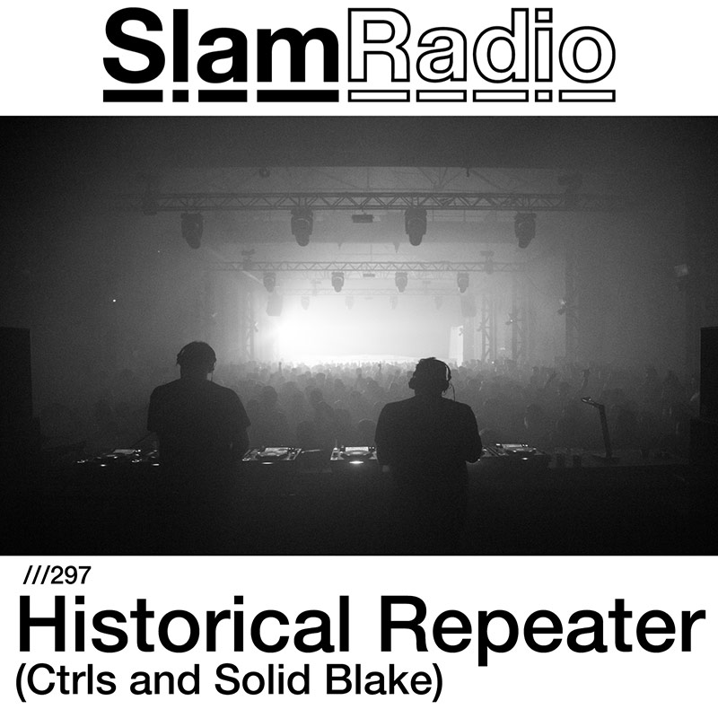 Slam Radio :: Episode 297, guest mix Ctrls and Solid Blake (aired on June 7th, 2018) banner logo