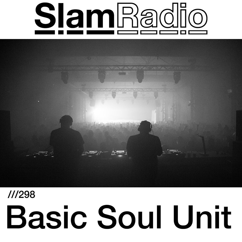 Slam Radio :: Episode 298, guest mix Basic Soul Unit (aired on June 14th, 2018) banner logo