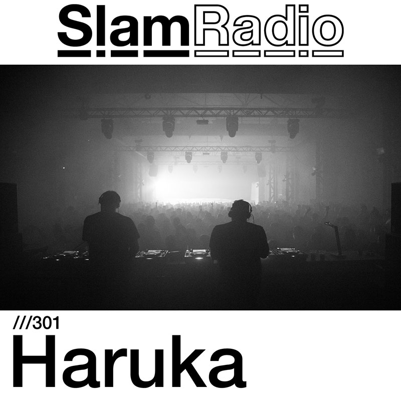 Slam Radio :: Episode 301, guest mix Haruka (aired on July 5th, 2018) banner logo