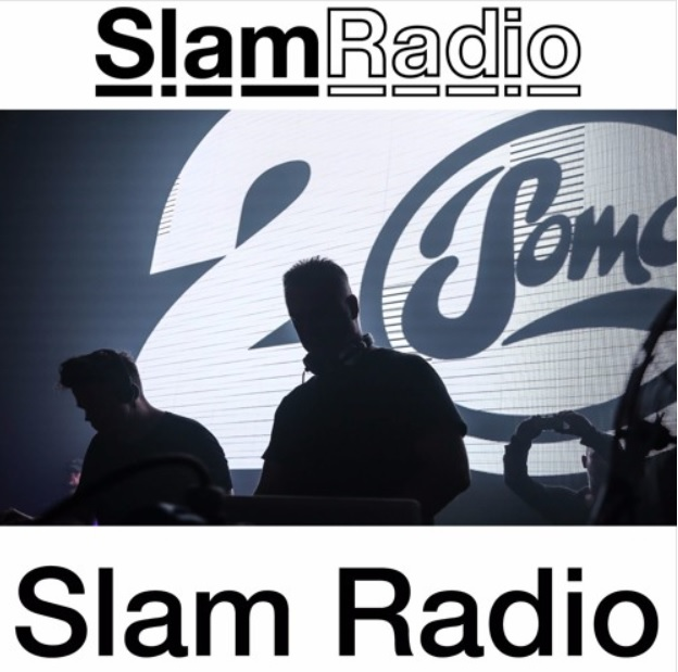 Slam Radio :: Episode 302, guest mix Shinedoe (aired on July 12th, 2018) banner logo