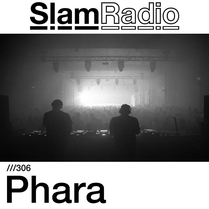 Slam Radio :: Episode 307, guest mix Phara (aired on August 16th, 2018) banner logo