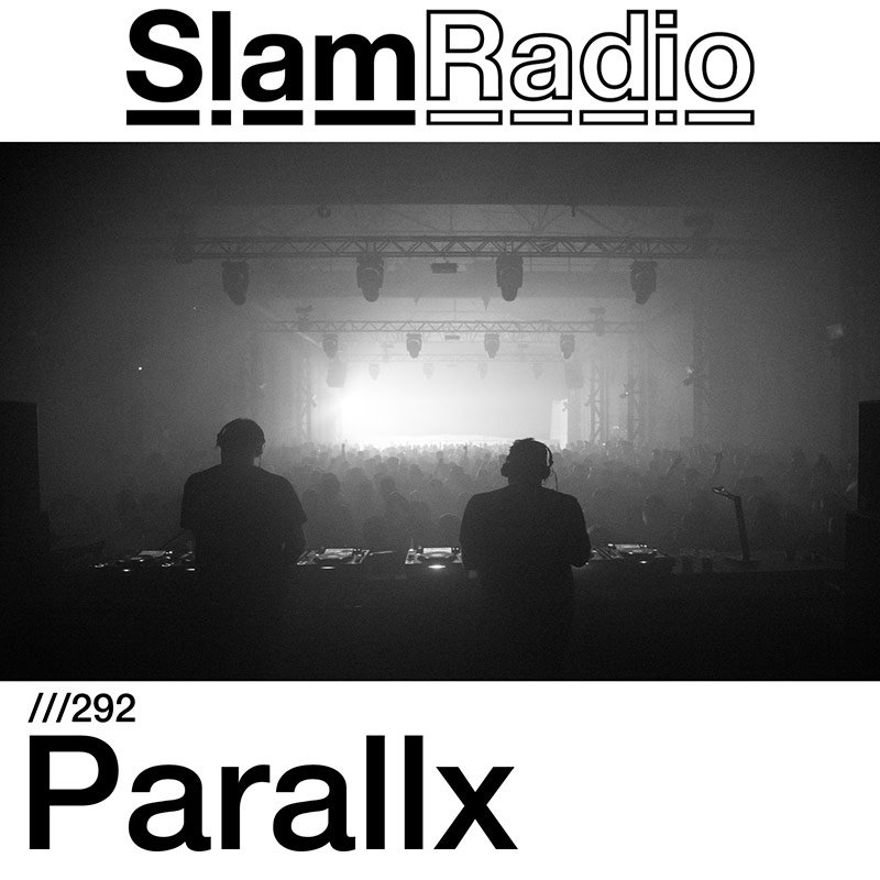 Slam Radio :: Episode 292, guest mix Parallx (aired on May 3rd, 2018) banner logo
