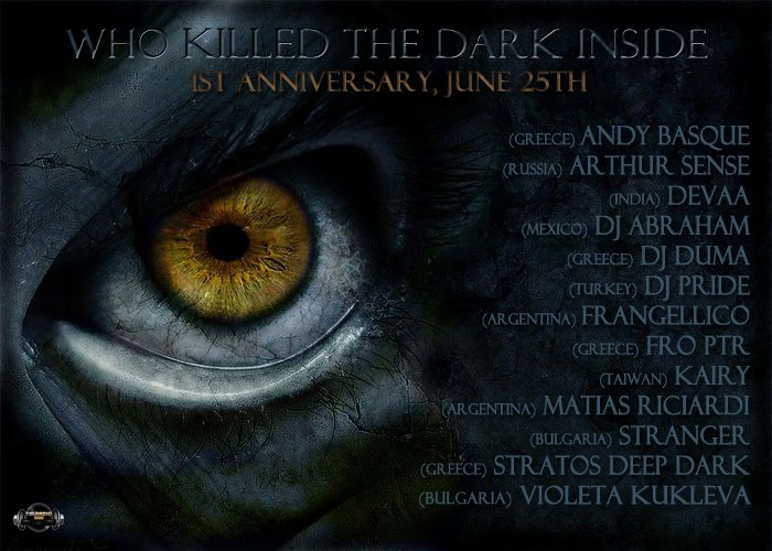 Who Killed The Dark Inside :: 1st Anniversary Celebration (14hrs) (aired on June 25th, 2012) banner logo