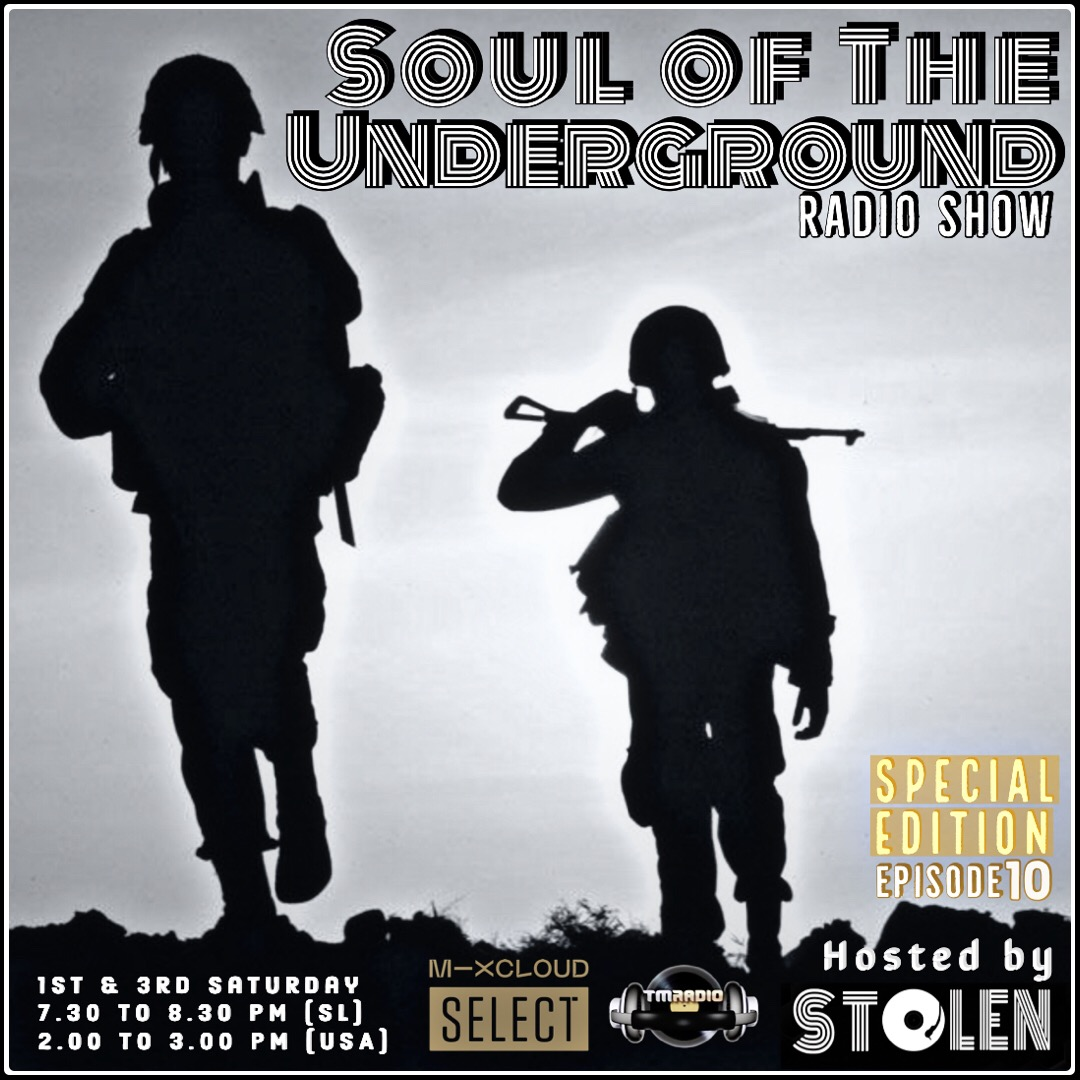 Soul of the Underground :: Special Edition Episode 10 (aired on October 3rd, 2020) banner logo