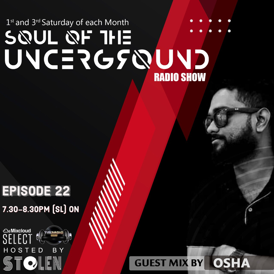 Soul of the Underground :: Episode 022 Guest mix by Osha (aired on April 3rd) banner logo