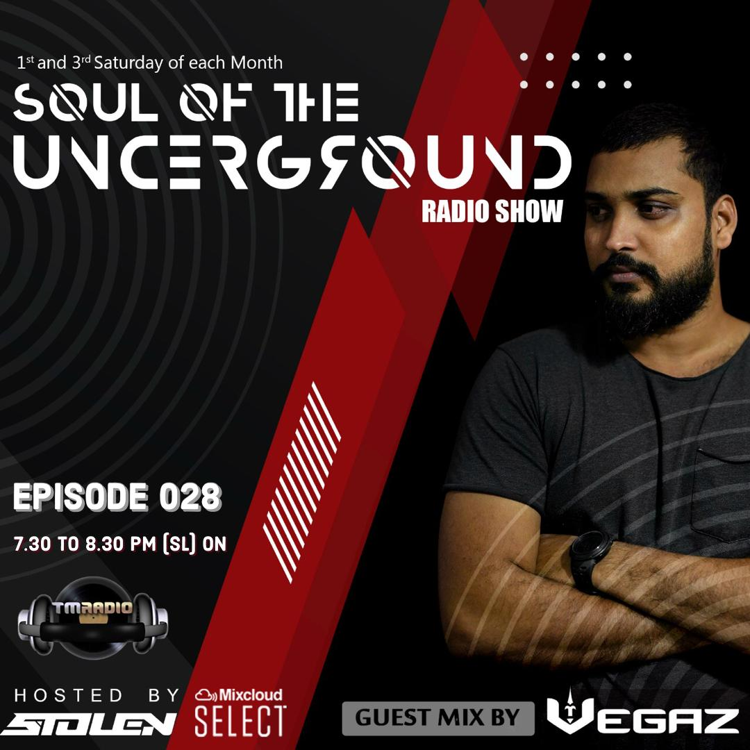 Soul of the Underground :: Episode 028 Guest Mix by Vegaz SL (aired on July 3rd) banner logo