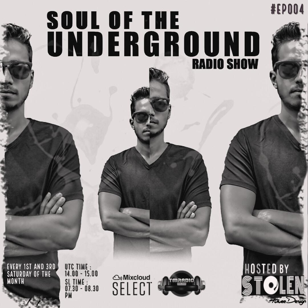 Soul of the Underground :: Soul Of The Underground with Stolen (SL)   TM Radio Show   EP004 (aired on July 4th, 2020) banner logo