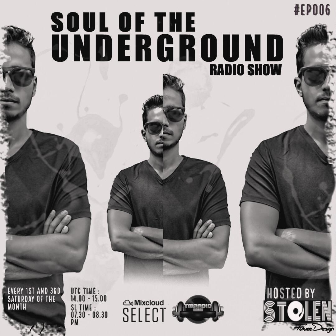 Soul of the Underground :: Soul Of The Underground with Stolen (SL) | TM Radio Show | EP006 (aired on August 1st, 2020) banner logo